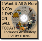 I Want it All & More! 6 CDs 1 DVD ON SALE TODAY! Includes Absolutely EVERYTHING!